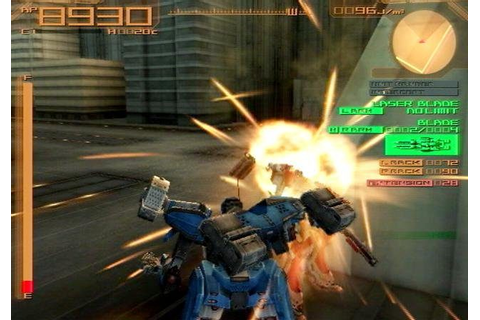 Armored Core: Last Raven (2005) by From Software PS2 game