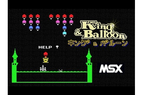 KING & BALLOON (MSX) Retro PC Game - YouTube