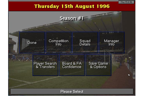 Championship Manager 2: 96/97