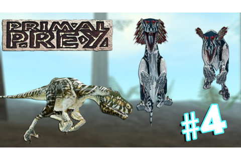 Utahraptor Pack Destroys Everything — Primal Prey | Part 4 ...