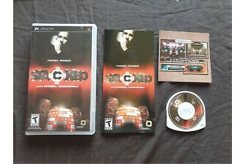 STACKED WITH DANIEL NEGREANU Sony PSP Game | eBay