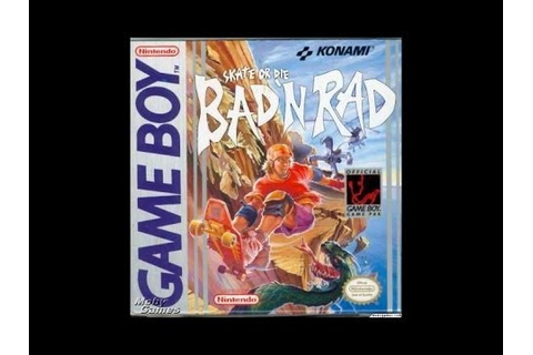 Skate or Die - Bad 'N Rad complete walkthrough (Game Boy ...