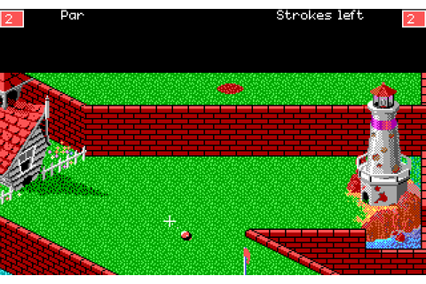 Zany Golf (1988) by Sandcastle MS-DOS game