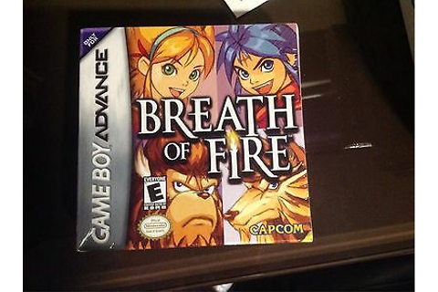 Breath of Fire (Nintendo Game Boy Advance, 2001) • CAD $39 ...