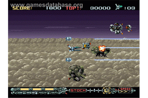 Phalanx - Nintendo SNES - Games Database