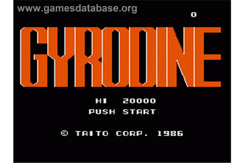 Gyrodine - Nintendo NES - Games Database
