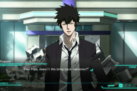 The Psycho-Pass game feels like a great new episode of the ...