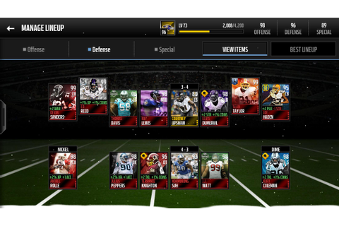 Game Changer LBs and Defensive Alignment Help - Madden NFL ...