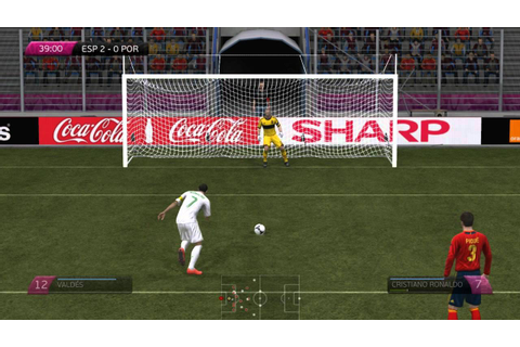 UEFA EURO 2012 PC Gameplay Spain - Portugal HD - YouTube