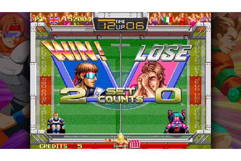 Review: Windjammers