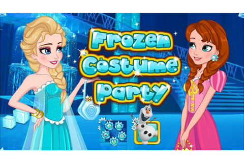 Fun Frozen Costume Party Game Episode-Disney Frozen Games ...