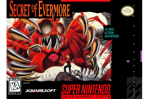 Secret of Evermore SNES Super Nintendo