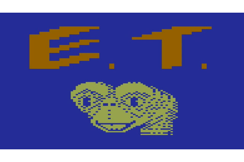 E.T. the Extra-Terrestrial (Atari 2600) - YouTube