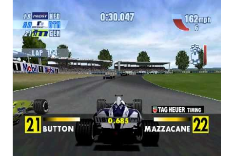 F1 Championship Season 2000 Silverstone Race (PS1) - YouTube
