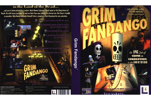 Grim Fandango + Remastered Free Full Game Download - Free ...