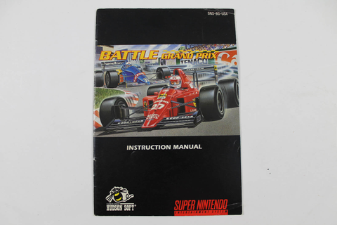 Manual - Snes_Battle_Grand_Prix