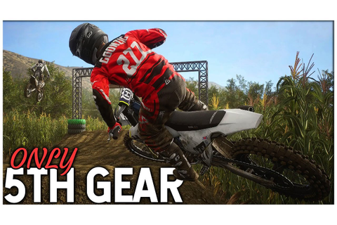 5TH GEAR for an ENTIRE RACE! - Supercross The Game 2 - YouTube