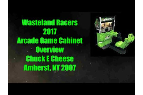 Rare Wasteland Racers 2017 Arcade Game Motion Cabinet ...