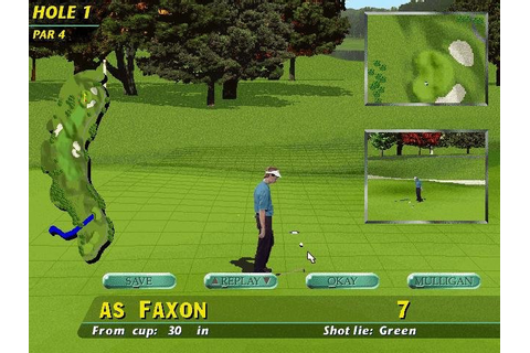PGA Tour 96 - PC Review and Full Download | Old PC Gaming