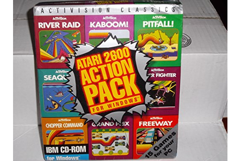 ACTIVISION'S ATARI 2600 ACTION PACK Software Video Game ...