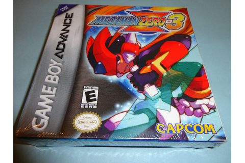 Mega Man Zero 3 (Nintendo Game Boy Advance, 2004) new gba ...