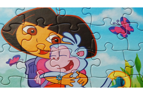 Dora the Explorer Jigsaw Puzzles Game Rompecabezas De ...