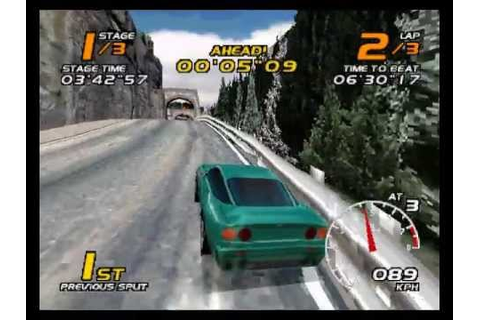 Vanishing Point PSX Tournament Final Race - YouTube