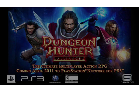 Dungeon Hunter: Alliance - PS3 - multi trailer by Gameloft ...