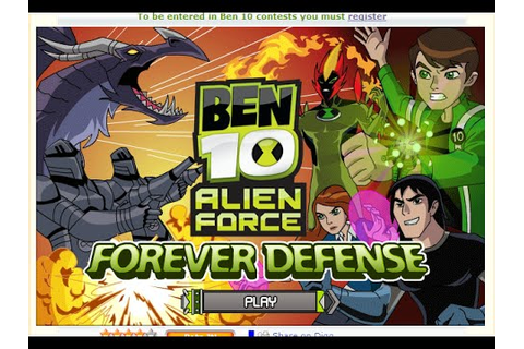 Play Free Online Games Ben 10 Games Of Alien Force Forever ...