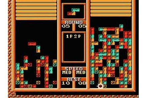 Tetris 2 NES - 2 player game play - YouTube