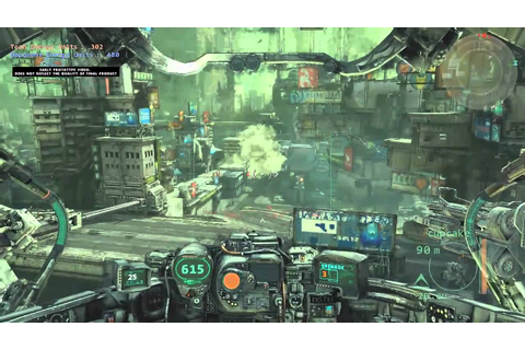 HAWKEN - Official Gameplay (Work in Progress) - YouTube