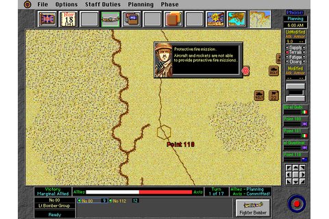 World at War: Operation Crusader (1994) by Atomic Games MS ...