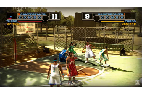 NBA Street V3 PS2 Gameplay HD - YouTube