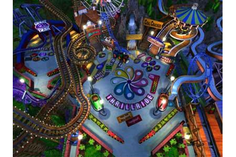 3D Ultra Pinball: Thrill Ride Download (2000 Arcade action ...