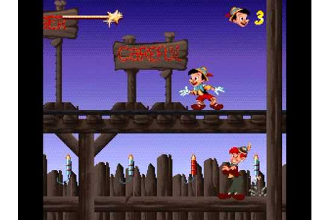 Pinocchio (SNES) – Video games