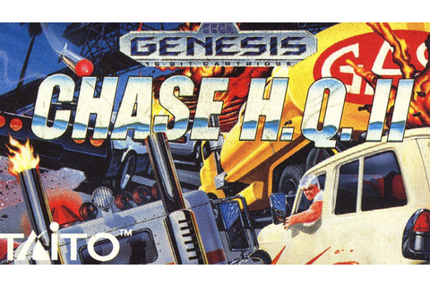 Classic Game Room - CHASE H.Q. II for Sega Genesis review ...