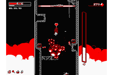 Action Platforming Game Downwell is Coming to PlayStation ...