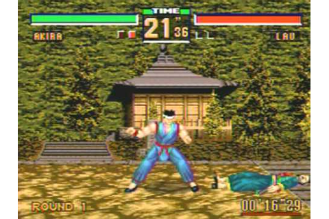Virtua Fighter 2 Game Sample - Genesis/MD - YouTube