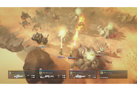 Helldivers Gameplay Trailer - YouTube