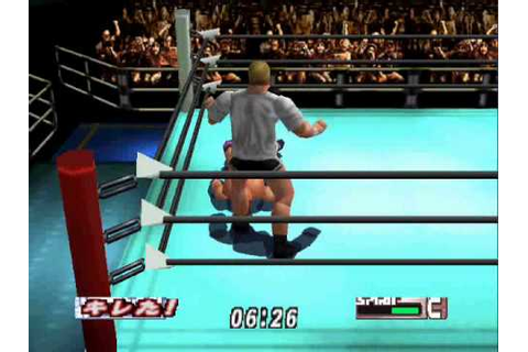 Virtual Pro Wrestling 2-Match 12 - YouTube
