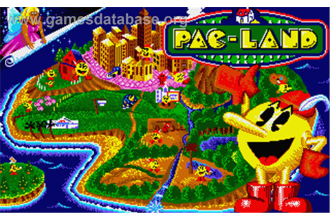 Pac-Land - Atari ST - Games Database