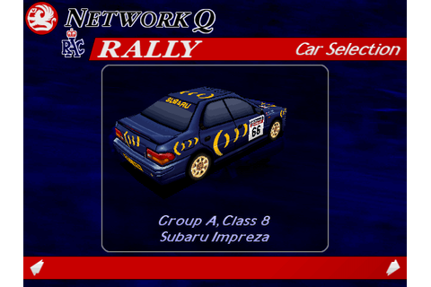 Download Network Q RAC Rally Championship - My Abandonware