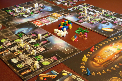 Galaxy Trucker | Across the Board Game Cafe
