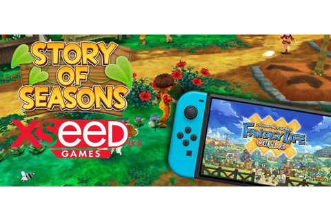 Story of Seasons Publisher XSEED Teases Nintendo Switch ...