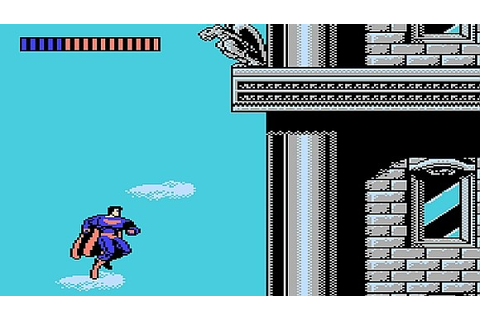 An unreleased Superman NES game for your enjoyment
