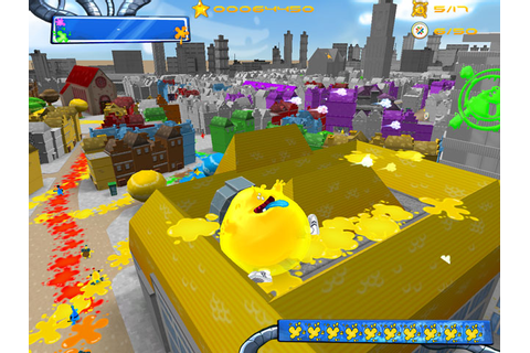 "Fun-Motion » Paint the Town with ""De Blob"" Physics Game"