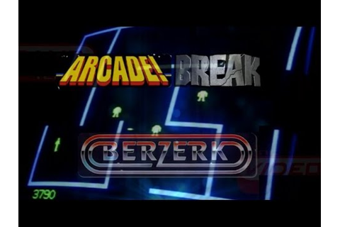 Berzerk (Arcade, 1980) - Video Game Years History - YouTube
