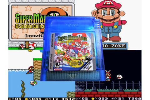 Super Mario Land 2: 6 Golden Coins (Nintendo Game Boy ...