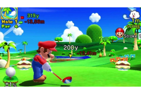 Mario Golf World Tour - Nintendo Direct New Gameplay ...