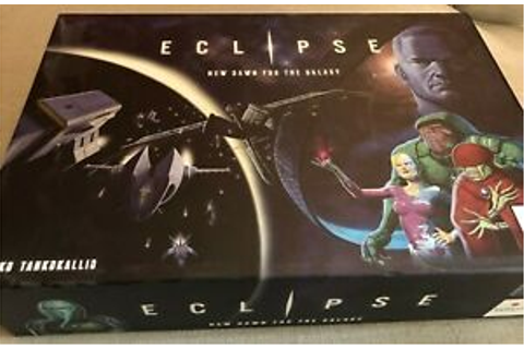 Eclipse New Dawn for the Galaxy Board Game - Used | eBay